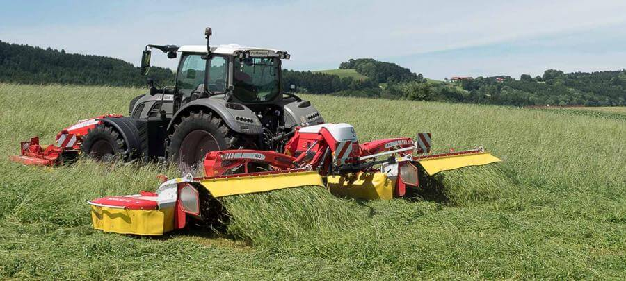 Pottinger triple mower