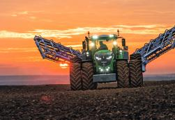 Fendt 1000 Series tractor in a field.