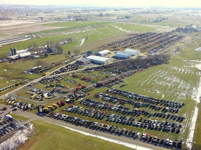 2017 MM Weaver auction complex